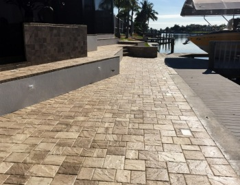 Captains-walk Sealed Stonehurst Cappuchino Pavers