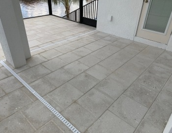 Ivory Shelllock Pavers