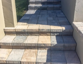Paver Stairs Stonehurst Sierra Color