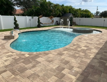 Stonehurst Pavers Cappuchino Color