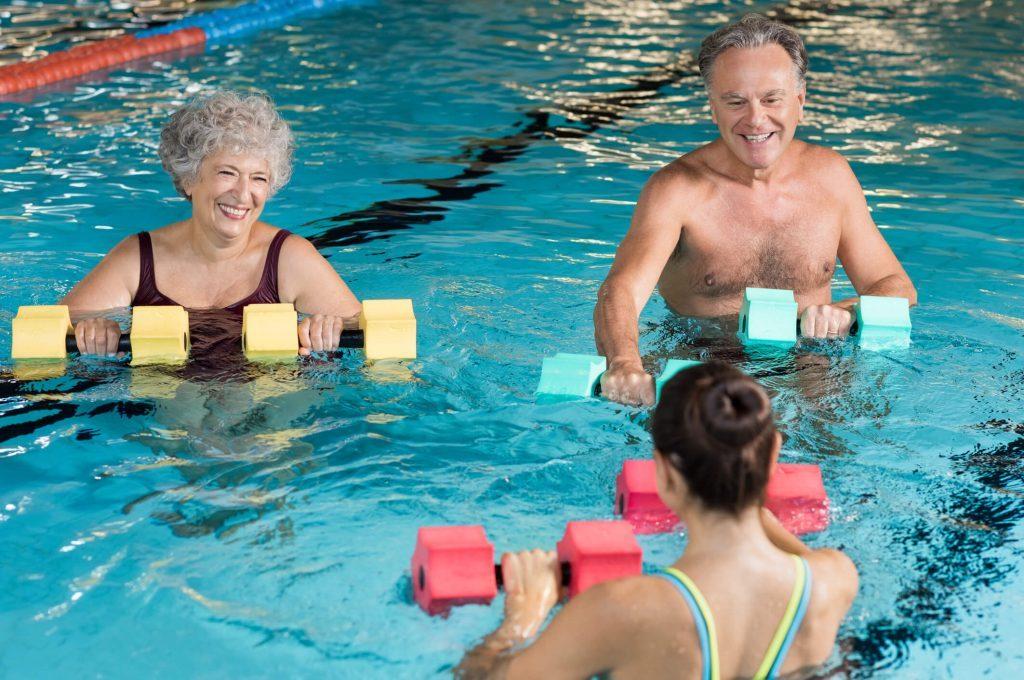 Senior Water Aerobics