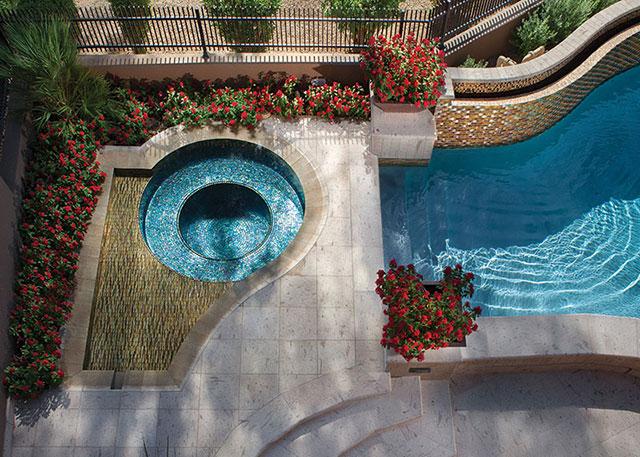 Glass Pool Tile FLorida